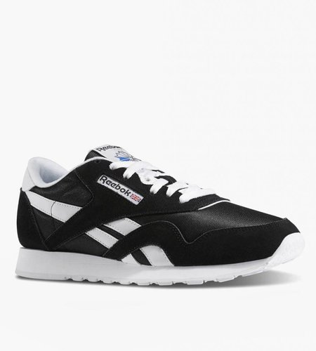 Reebok Reebok CL Nylon Black White