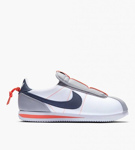 Nike Kendrick Lamar X Nike Cortez White Thunder Blue Wolf Gray Turf Orange