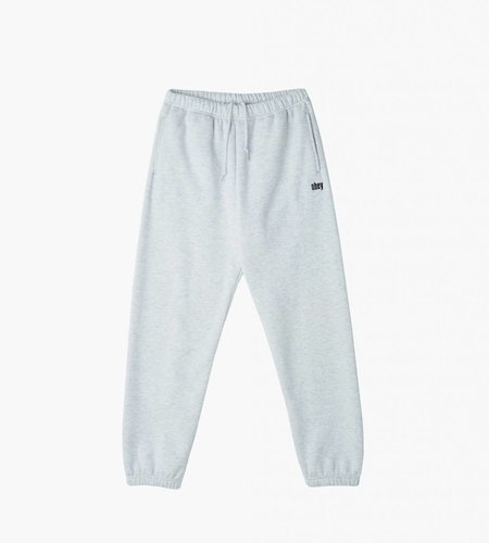 Obey Obey Collegiate Pulley Fleece Pants Ash Grey