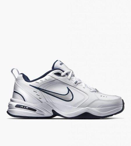 Nike Nike Air Monarch IV White Metallic Silver