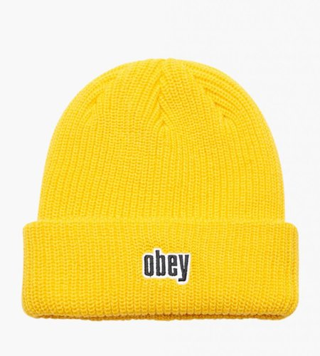 Obey Obey Jungle Beanie Dusty Yellow