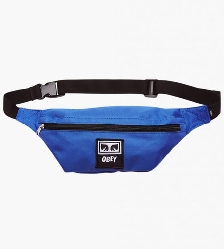 Obey Obey Wasted Daily Sling Pack Royal Blue