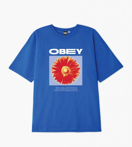Obey Obey Flower Power Royal Blue