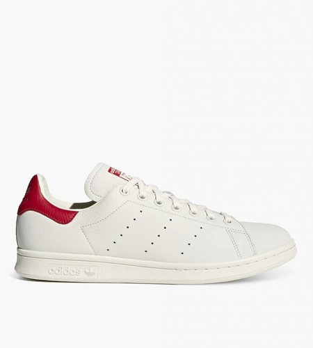 Adidas Adidas Stan Smith Beige Chalk White Scarlet