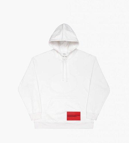 Calvin Klein Calvin Klein EST. 1987 Back Modernist Hoodie White
