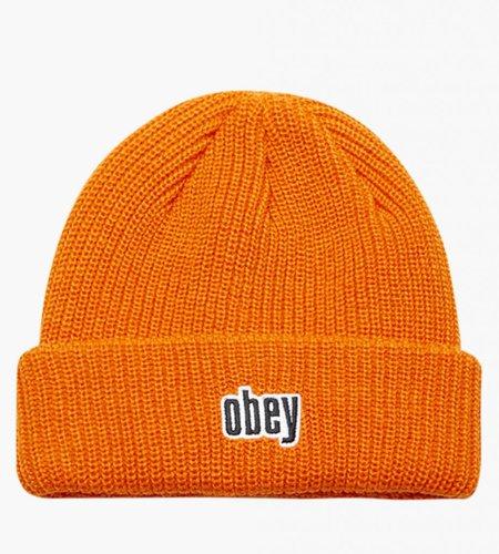 Obey Obey Jungle Beanie Orange