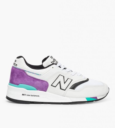 New Balance New Balance M997 D White Purple