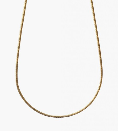Golia Golia Flat Snake Necklace