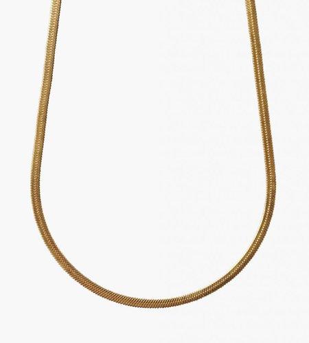 Golia Golia Flat Cobra Necklace