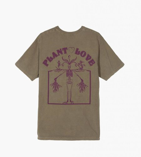 Stussy Stussy Plant Love Pig. Dyed Pkt Tee Army