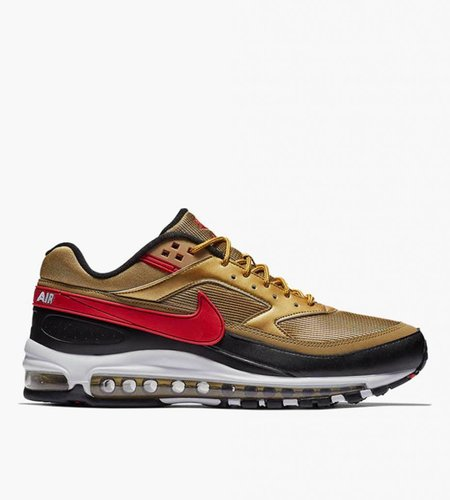 Nike Nike Air Max 97 / Bw Metallic Gold University Red White Black