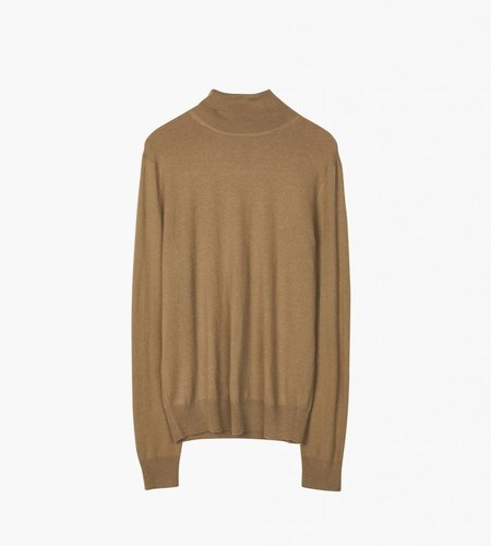 Filippa K Filippa K M. Silk Mix Rollerneck Sweater Tobacco