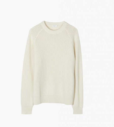 Filippa K Filippa K M. Wave Stitch Sweater Off-White
