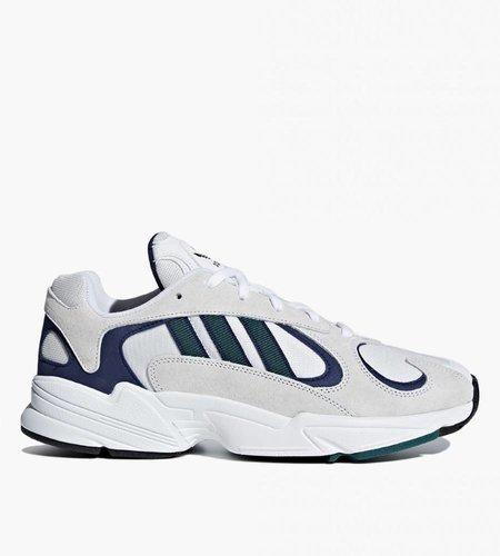 Adidas Adidas Yung 1 Ftwr White Noble Green f18 Dark Blue