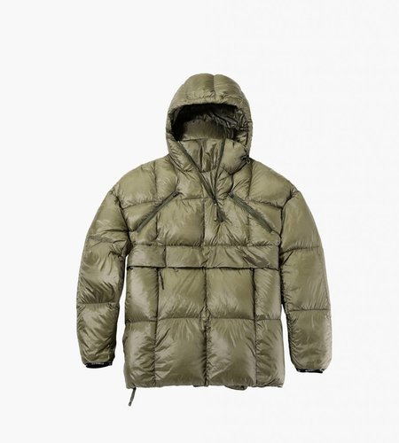 Nilmance 100 Down Puffy Anorak Olive