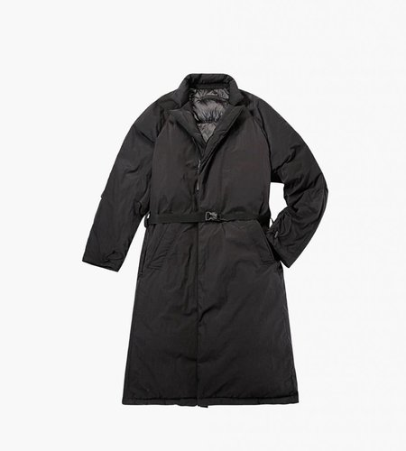 Nilmance 90G Balmacaan Coat Black