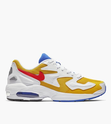Nike Nike Air Max 2 Light Gold Flash Crimson Racer Blue