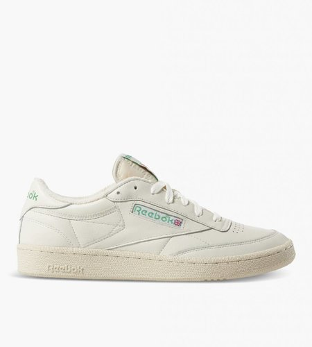 Reebok Reebok Club C 85 TV Chalk Paper White Green