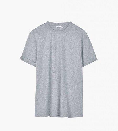 Filippa K Filippa K M. Heavy Single Jersey Roll Up Light Grey