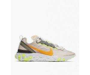 49c0c04235769 Nike React Element 87 Light Orewood Brown Laser Orange Volt Glow - Baskèts  Stores Amsterdam