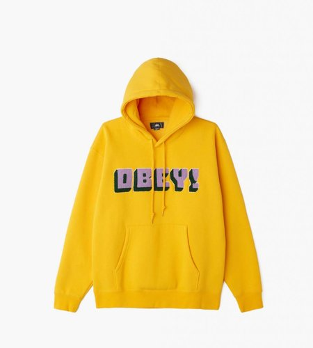 Obey Obey Bean Hood Gold