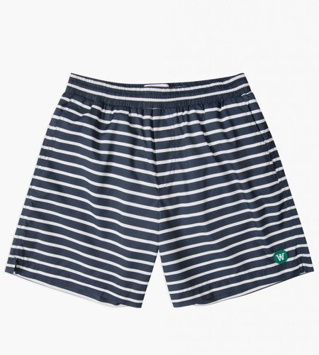 Wood Wood Wood Wood Roy Swim Shorts Navy Off White