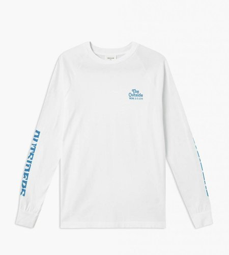 Wood Wood Wood Wood Han Long Sleeve Bright White