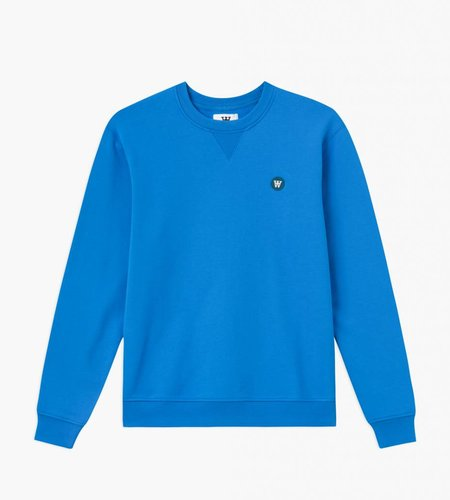 Wood Wood Wood Wood Tye Sweatshirt Bright Blue