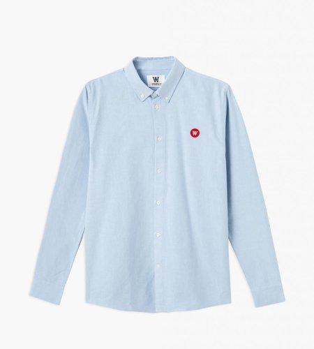 Wood Wood Wood Wood Ted Shirt Light Blue