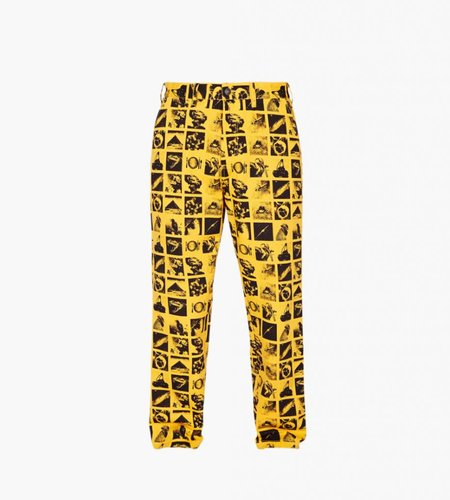 Obey Obey Chaos Pant Zine Energy Yellow