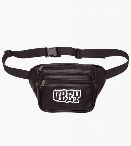 Obey Obey Better Days PU Waist Bag Black