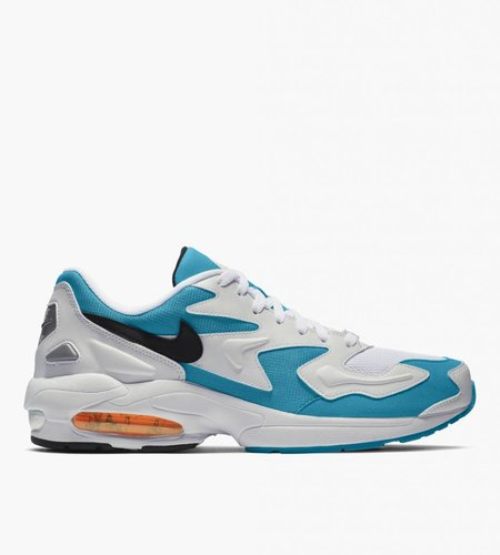 Nike Nike Air Max 2 Light White Black Blue Lagoon Laser Orange