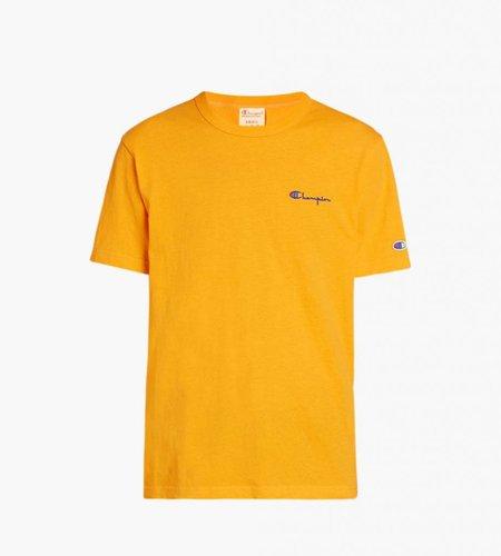 Champion Champion Small Script Logo T-Shirt Yellow