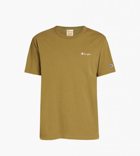 Champion Champion Small Script Logo T-Shirt Army Green