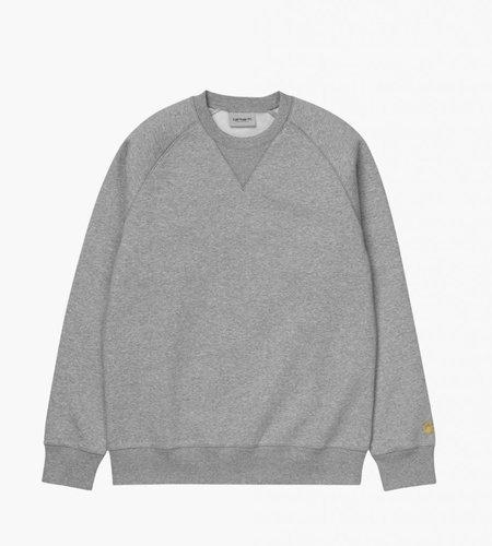 Carhartt Carhartt Chase Sweat Grey Heather Gold