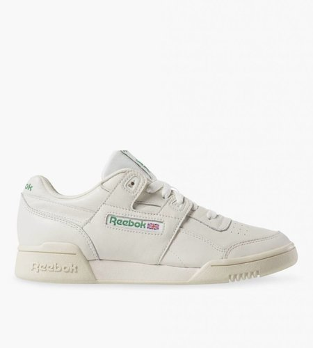 Reebok Reebok Workout Lo Plus Chalk Paper White Green