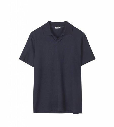 Filippa K Filippa K M. Soft Lycra Polo T-Shirt Navy