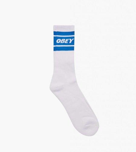 Obey Obey Cooper II Socks White Sky Blue