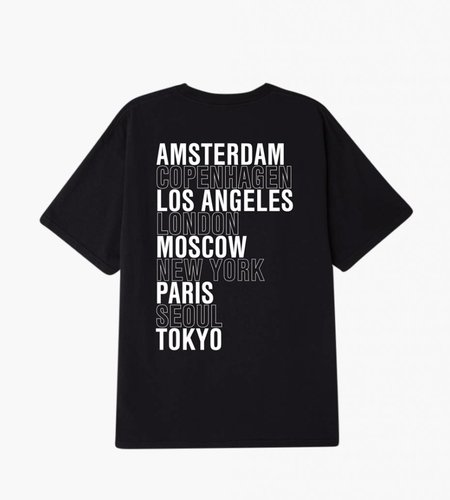 Obey Obey Intl. Cities Off Black T-Shirt