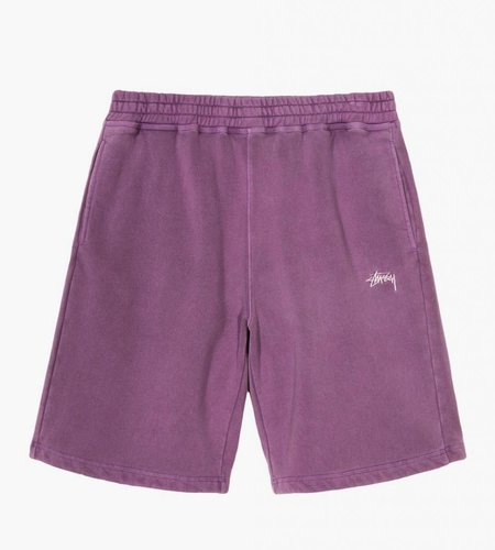Stussy Stussy Stock Fleece Short Purple