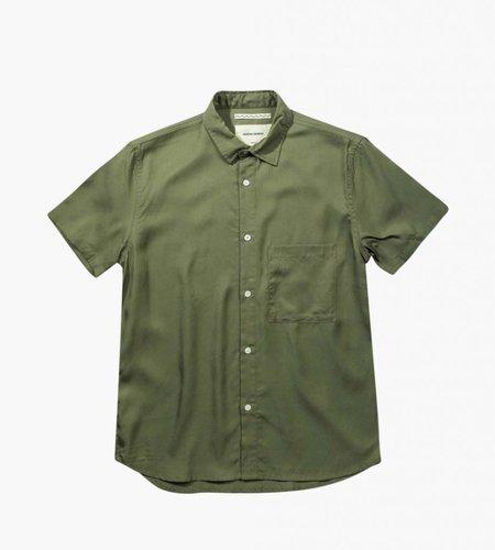 Native North Native North Japanese Tencel Shirt Olive