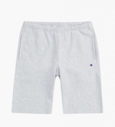 Champion Champion Reverse Weave Long Short Heather Grey