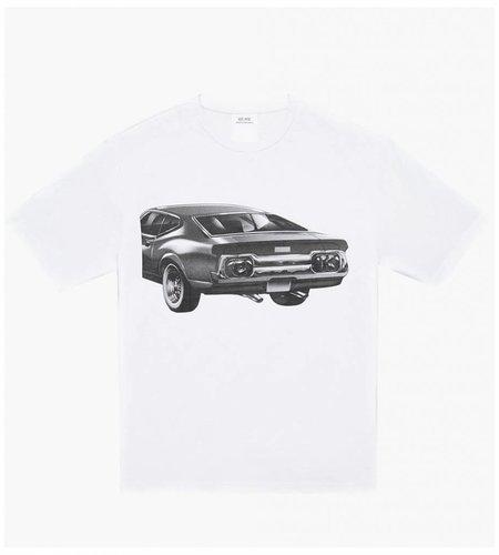Calvin Klein Calvin Klein Est. 1978 SS Tee Car White Black Car