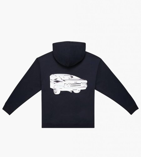 Calvin Klein Calvin Klein Est. 1978 Hoodie Car Black White Car