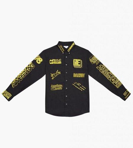 Calvin Klein Calvin Klein Est. 1978 Embroidery Shirt Black Yellow Embroid