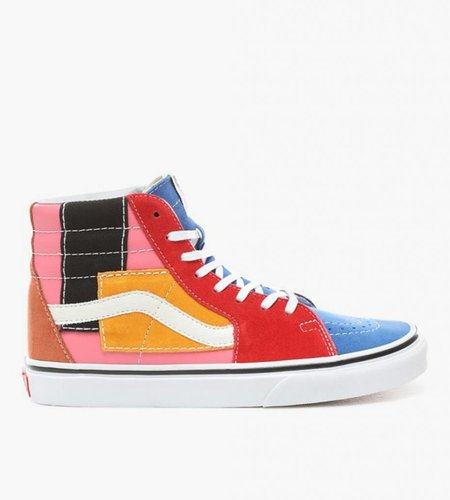 Vans Vans SK8-Hi (Patchwork) Multi True White