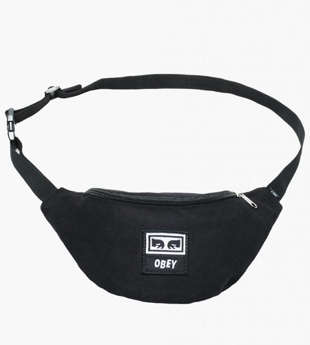Obey Obey Wasted Hip Bag Black Twill