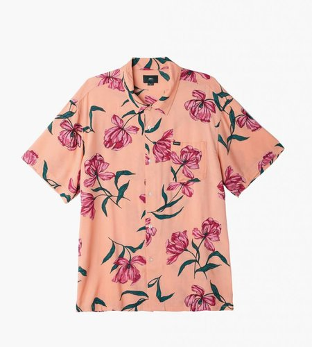 Obey Obey Lily Woven SS Coral Multi