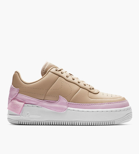 sale retailer 509aa 35676 Nike Nike W AF1 Jester XX Bio Beige Pink Force White Beige Bio Blanc Force  Rose