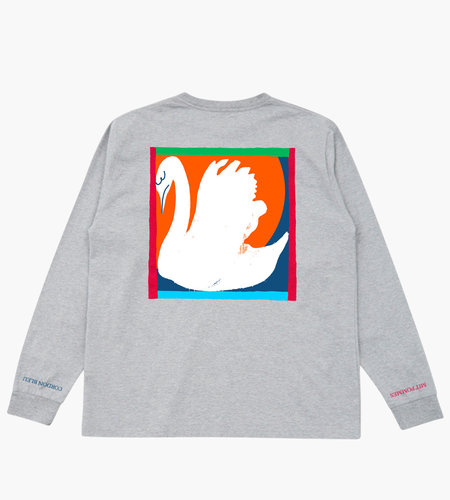 Reception Reception Bodega Tee Grey Marl